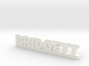 BRIDGETT Lucky in White Processed Versatile Plastic
