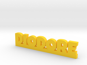 DIODORE Lucky in Yellow Processed Versatile Plastic