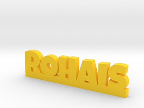 ROHAIS Lucky in Yellow Processed Versatile Plastic