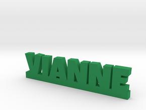 VIANNE Lucky in Green Processed Versatile Plastic