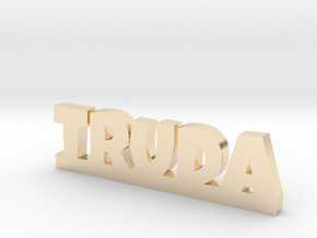 TRUDA Lucky in 14k Gold Plated Brass