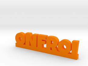 ONFROI Lucky in Orange Processed Versatile Plastic