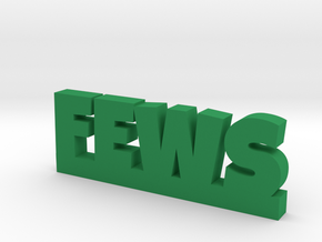 FEWS Lucky in Green Processed Versatile Plastic