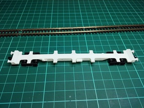 3 * FEA-F Wagon N Gauge 1:148 in Smooth Fine Detail Plastic