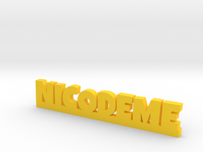 NICODEME Lucky in Yellow Processed Versatile Plastic