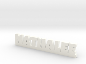 NATHALEE Lucky in White Processed Versatile Plastic