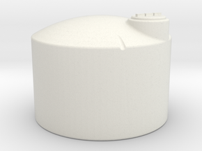 1/64 Scale 1550 Gallon Fertilizer Tank in White Natural Versatile Plastic
