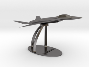 X-90A Desk Display Assembled in Polished Nickel Steel