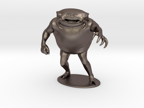Umber Hulk Miniature in Polished Bronzed Silver Steel: 1:60.96