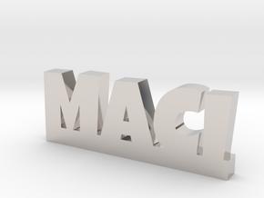 MACI Lucky in Rhodium Plated Brass