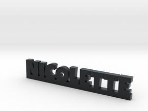 NICOLETTE Lucky in Black Hi-Def Acrylate