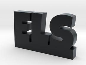 ELS Lucky in Black Hi-Def Acrylate