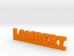LAMBERT Lucky in Orange Processed Versatile Plastic