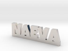 NAEVA Lucky in Rhodium Plated Brass