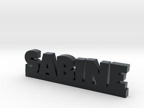 SABINE Lucky in Black Hi-Def Acrylate