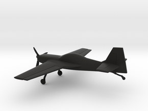 Terzi T-30 Katana in Black Natural Versatile Plastic: 1:96
