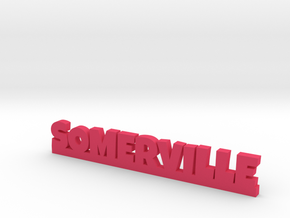 SOMERVILLE Lucky in Pink Processed Versatile Plastic