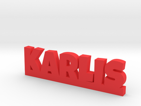 KARLIS Lucky in Red Processed Versatile Plastic