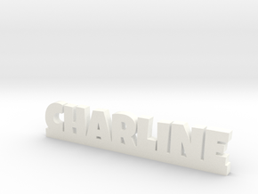 CHARLINE Lucky in White Strong & Flexible Polished