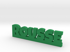 ROUSSE Lucky in Green Strong & Flexible Polished