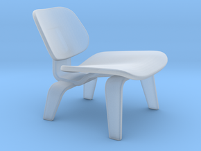 Miniature Eames DCW Chair - Charles & Ray Eames in Smooth Fine Detail Plastic