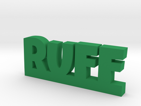 RUFF Lucky in Green Strong & Flexible Polished