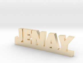 JENAY Lucky in 14k Gold Plated Brass