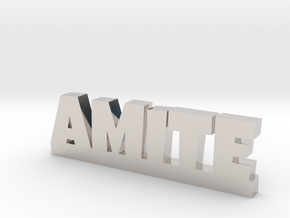 AMITE Lucky in Rhodium Plated Brass