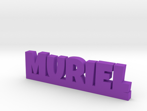 MURIEL Lucky in Purple Strong & Flexible Polished