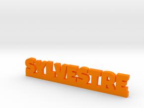 SYLVESTRE Lucky in Orange Processed Versatile Plastic