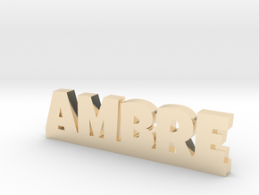 AMBRE Lucky in 14k Gold Plated Brass