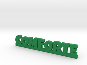 COMFORTE Lucky in Green Strong & Flexible Polished