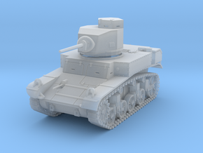 PV27C M3 Stuart Light Tank (1/87) in Smooth Fine Detail Plastic