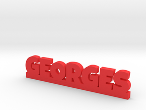 GEORGES Lucky in Red Processed Versatile Plastic