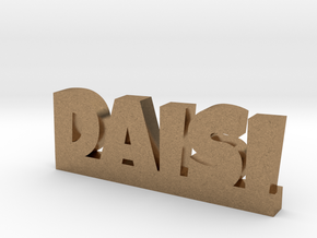 DAISI Lucky in Natural Brass