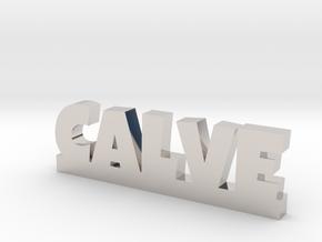 CALVE Lucky in Rhodium Plated Brass