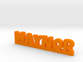 MAYNOR Lucky in Orange Processed Versatile Plastic