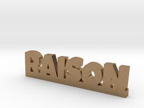 RAISON Lucky in Natural Brass