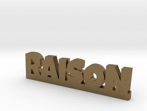 RAISON Lucky in Natural Bronze