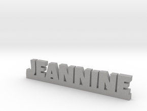 JEANNINE Lucky in Aluminum