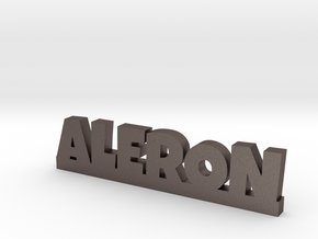 ALERON Lucky in Polished Bronzed Silver Steel