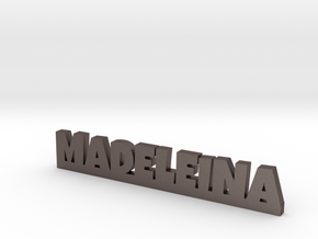 MADELEINA Lucky in Polished Bronzed Silver Steel