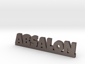 ABSALON Lucky in Polished Bronzed Silver Steel