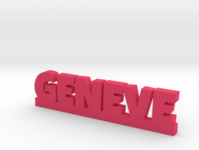 GENEVE Lucky in Pink Processed Versatile Plastic