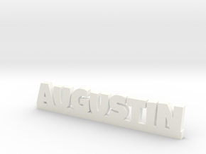 AUGUSTIN Lucky in White Processed Versatile Plastic