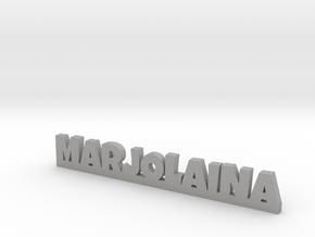 MARJOLAINA Lucky in Aluminum