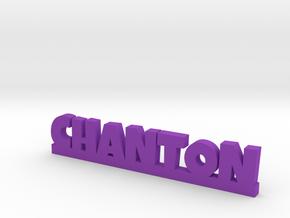 CHANTON Lucky in Purple Processed Versatile Plastic