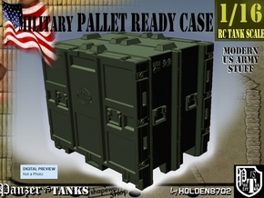 1-16 MM08 Pallet Ready Case in Green Processed Versatile Plastic