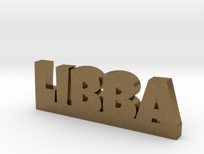 LIBBA Lucky in Natural Bronze