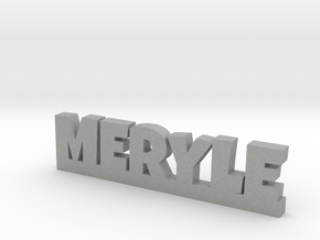 MERYLE Lucky in Aluminum